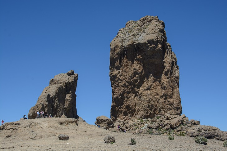The Roque Nublo is 70 meters high